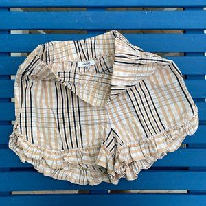 Ganni Phillips Cotton Shorts